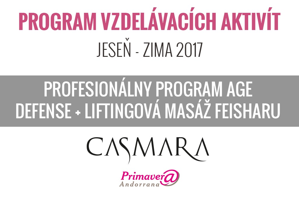 Profesionálny program AGE DEFENSE + liftingová masáž FEISHARU