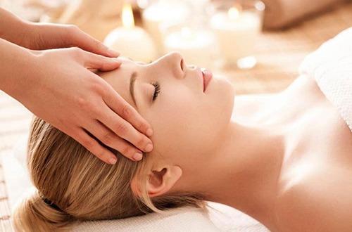 Ajurvédska masáž tváre