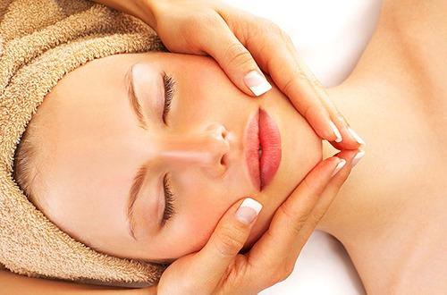 Lymfatická masáž tváre