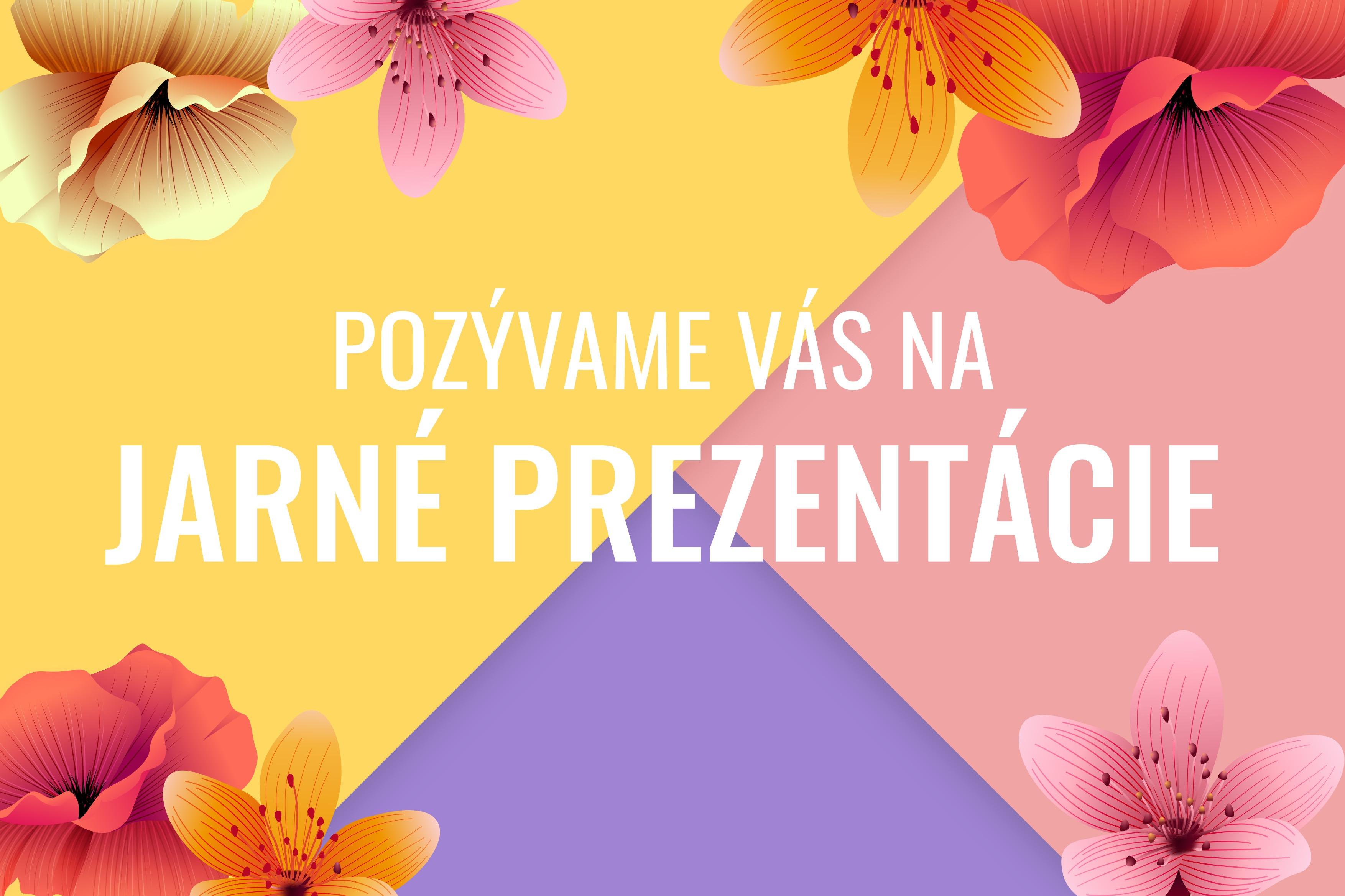 Jarné prezentácie 2019